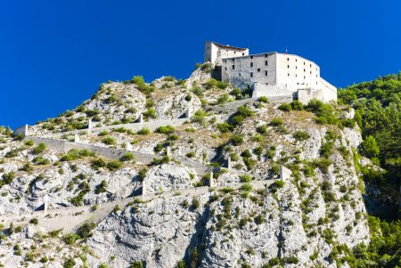 Fortress in Entrevaux, Provence, France