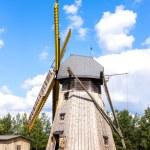 Windmill, Kaszubski ethnographic park in Wdzydzki ...