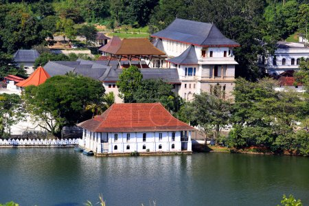 Temple of Tooth Relic in Kandy, Sri Lanka