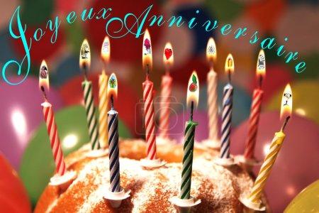 Alles Gute zum Geburtstag - joyeux anniversaire