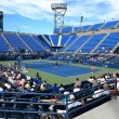 Постер, плакат: U S Open Tennis Louis Armstrong Stadium