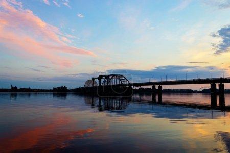 Bridge over the Northern Dvina River in Arkhangels...