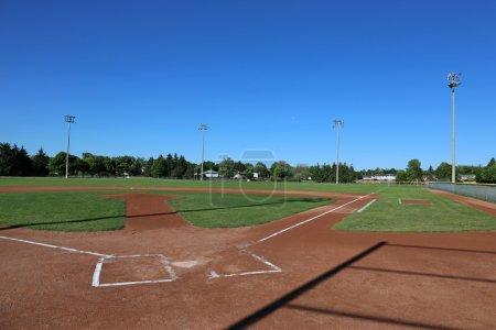 Baseball Field Shadows
