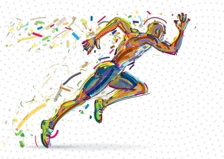 Running man.
