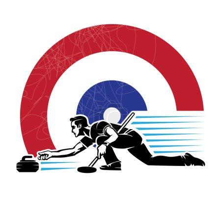 Curling sport.