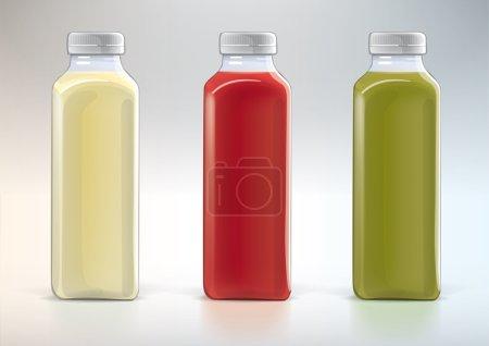 Plastic bottle for new design