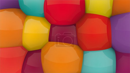 Mixed color fun background. You can change the col...