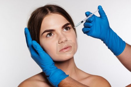 Medical injection to correct wrinkles