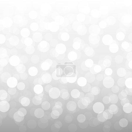 Silver Bokeh Wallpaper