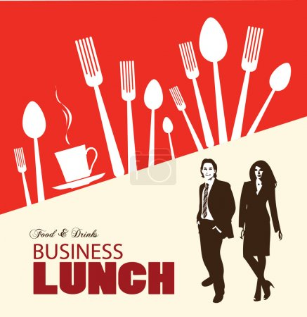 Business-lunch menu