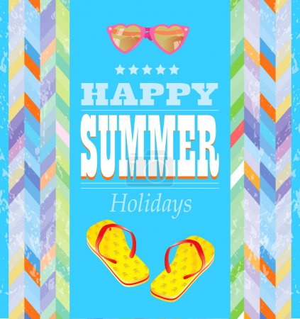Photo for Summer holidays design. - Royalty Free Image