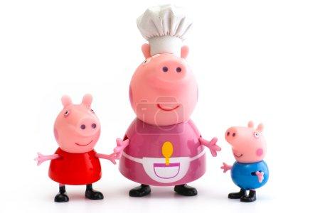 Peppa свинья Джордж свинья и