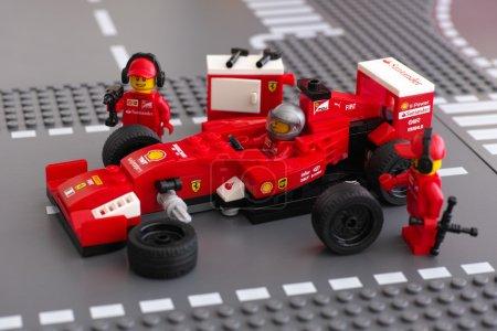 Fixing wheel of Ferrari F14