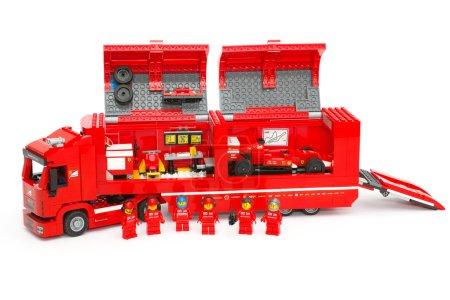 F14 T Scuderia Ferrari Truck