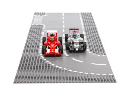 Lego Ferrari F14 T and