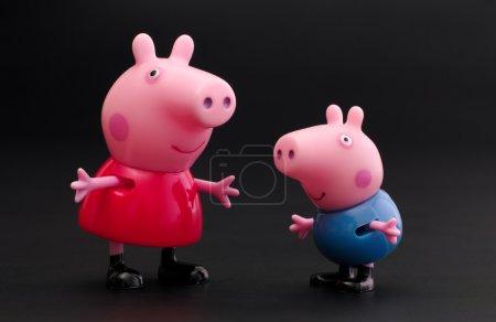 Peppa свинья и Джордж свинья