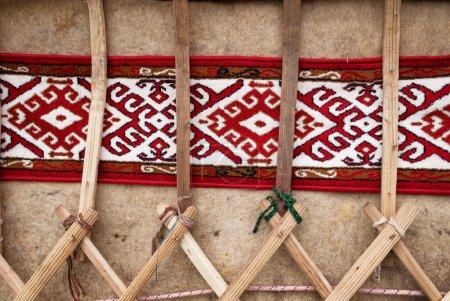 Detail of yurt