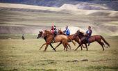 Nomad nationalen Pferd Reiten Wettbewerb