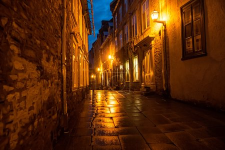 Dark Narrow Streets