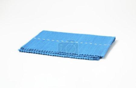 Blue table mat