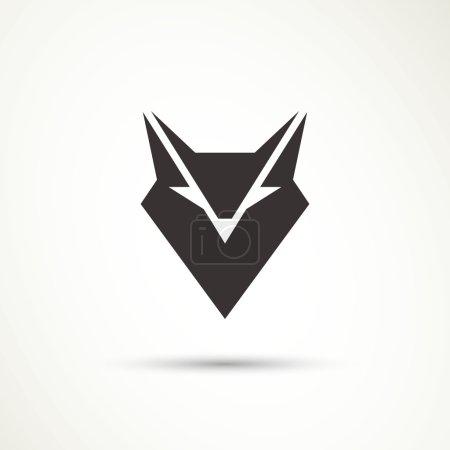 Illustration pour Illustration vectorielle d'une icône animale - image libre de droit