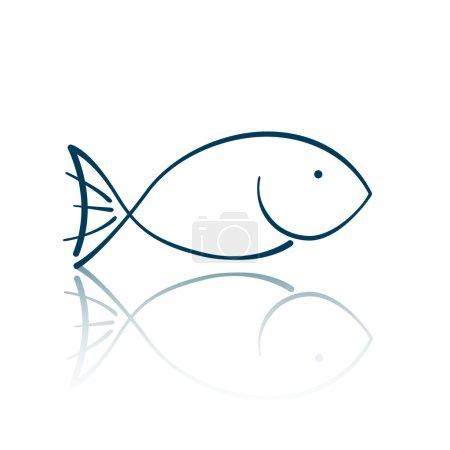 Vector Fish Icon