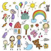 Sbírka kreseb dětí