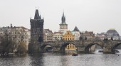 Charles Bridge (day) in Prague, Czech Republic