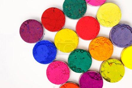 Photo pour Fond coloré. Festival indien Holi couleurs - image libre de droit