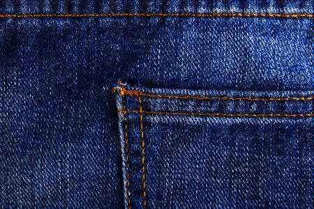Jeans pocket texture