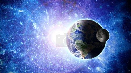 Photo pour Planète terre. éléments de cette image fournie par la nasa - image libre de droit