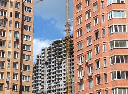 City construction activity