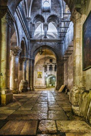 Jerusalem. Israel. Holy Sepulchre Church.
