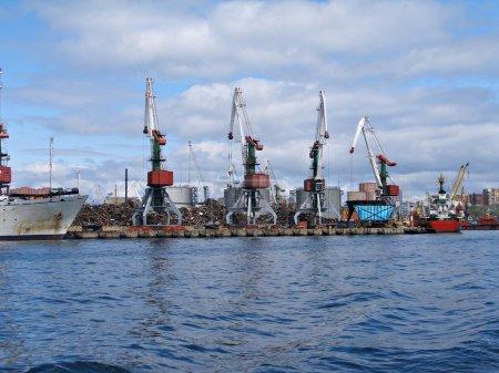 Seaport Vladivostok, Russia