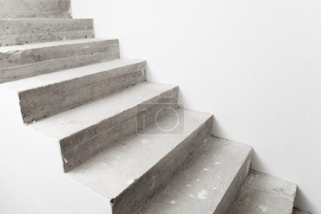 Photo for Concrete staircase under construction - Royalty Free Image