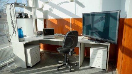 Repair workplace panorama