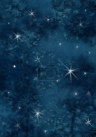 Night sky background with shining stars for your background