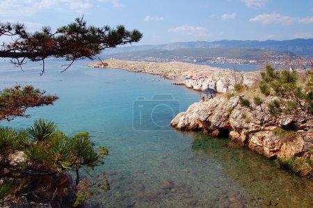 Photo pour Belle vue en Croatie - image libre de droit