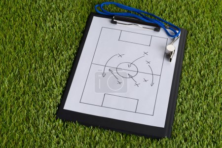 Soccer Tactic Diagram