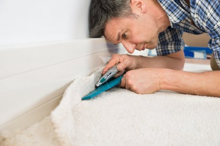 Craftsman Cutting Carpet