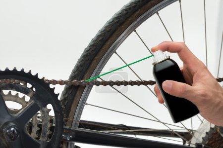 Hand Lubricating Bike