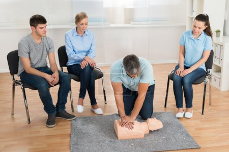First Aid Cpr Technique