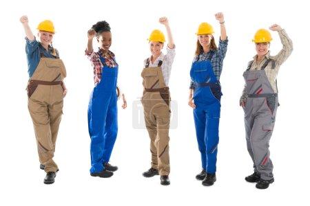 Portrait Of Successful Female Carpenters