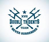 tridents symbol  logo