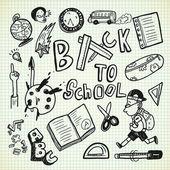 set of school, study icons