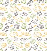 Various bread background