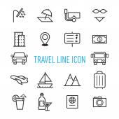 Sada ikon, cestování