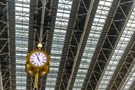 Clock tower in Osaka