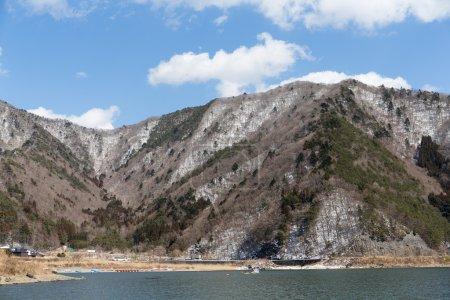 Lake Motosu in Japan