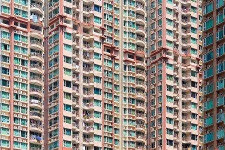 Building facade in Hong Kong